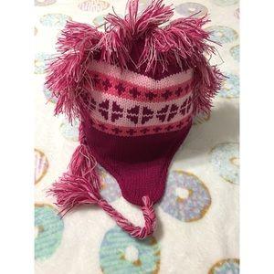 Pink MoHawk Beanie